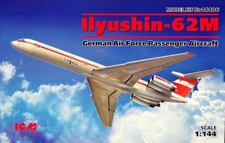 1:144 Ilyushin IL-62M German AF Passenger Aircraft