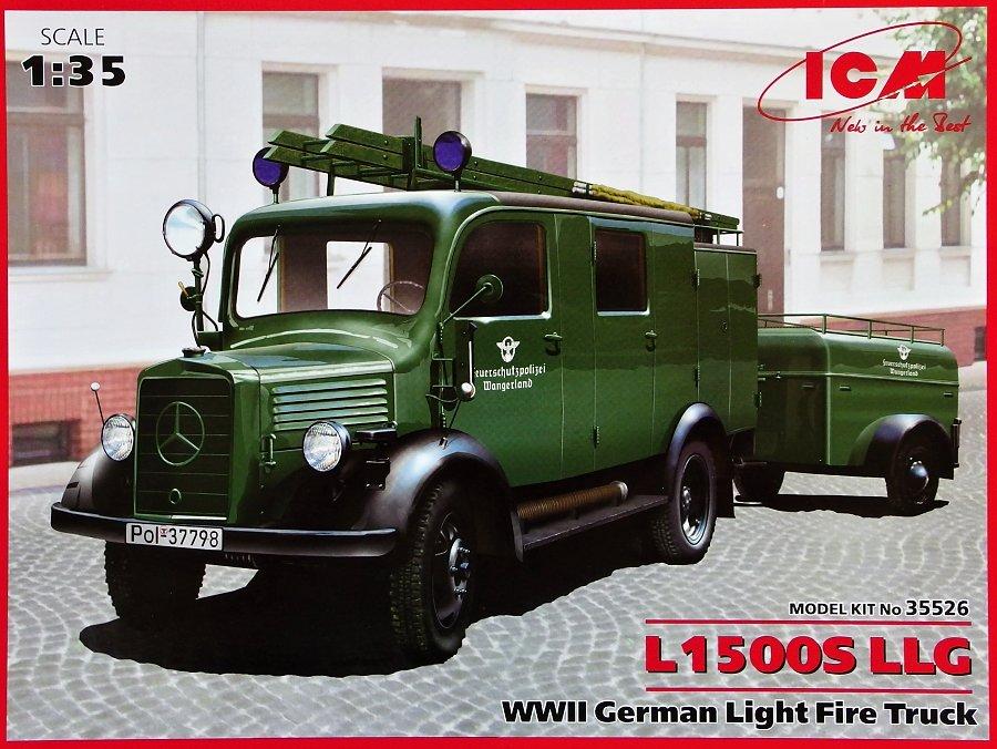 1:35 L1500S LLG German Light Fire Truck