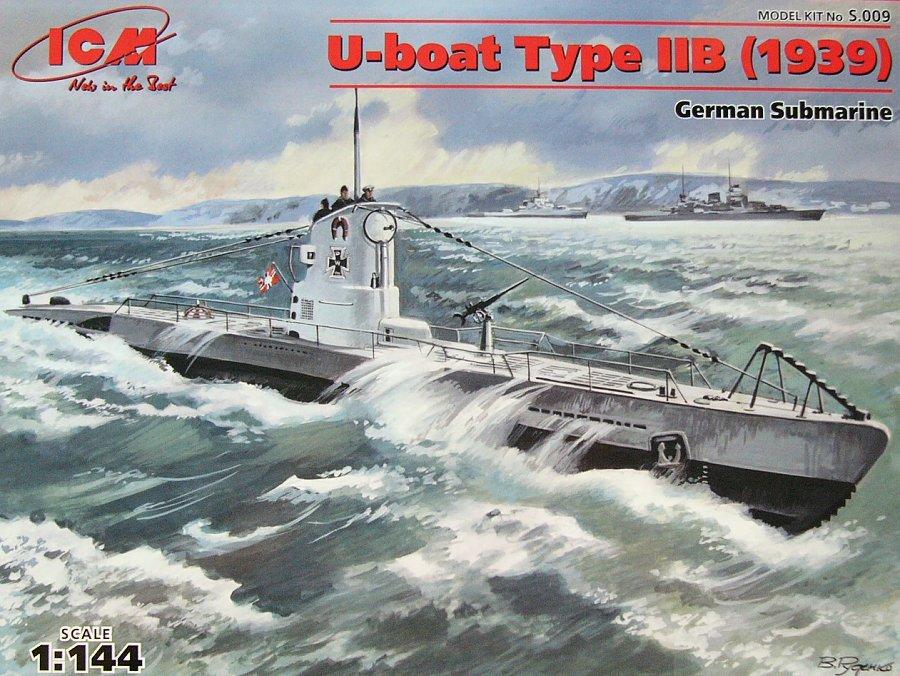 1:144 U-Boat Type IIB (1939)