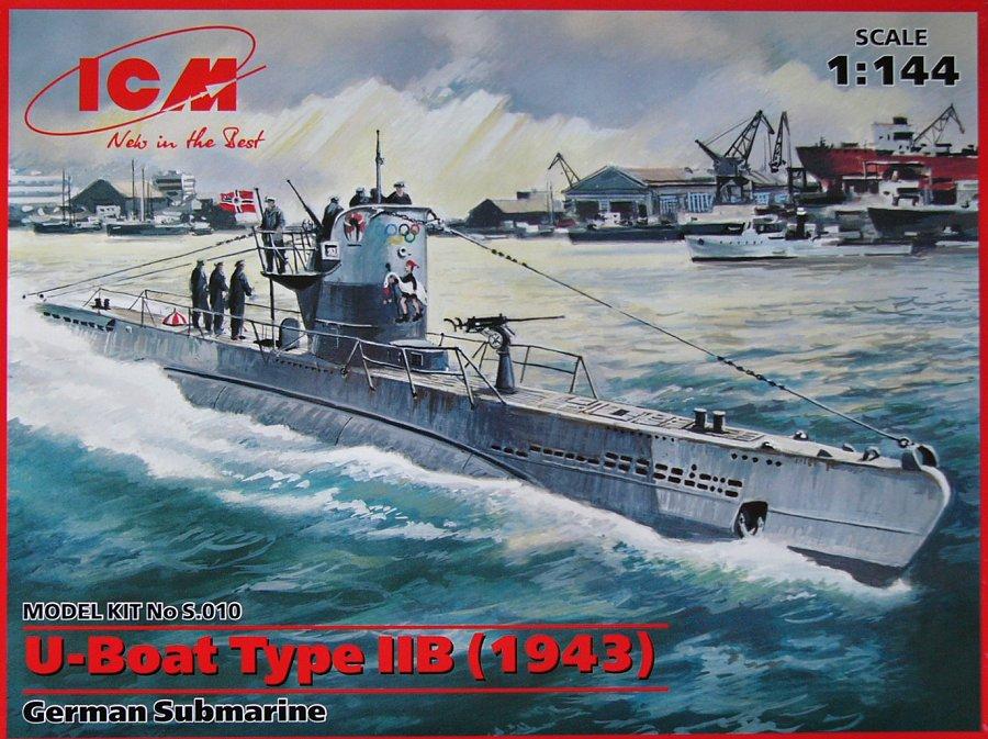 1:144 U-Boat Type IIB (1943)