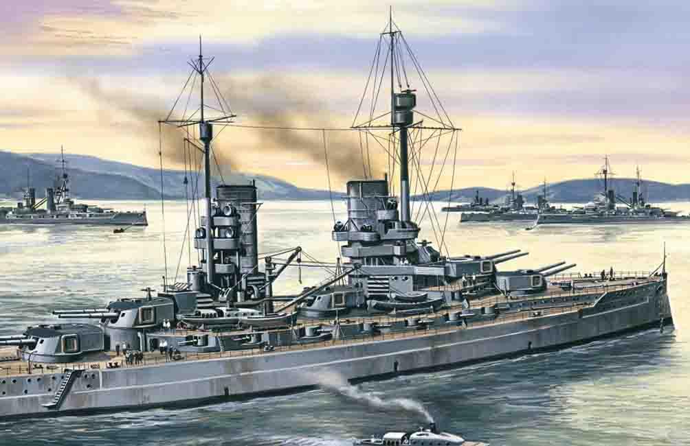 1:350 König WWI German Battleship