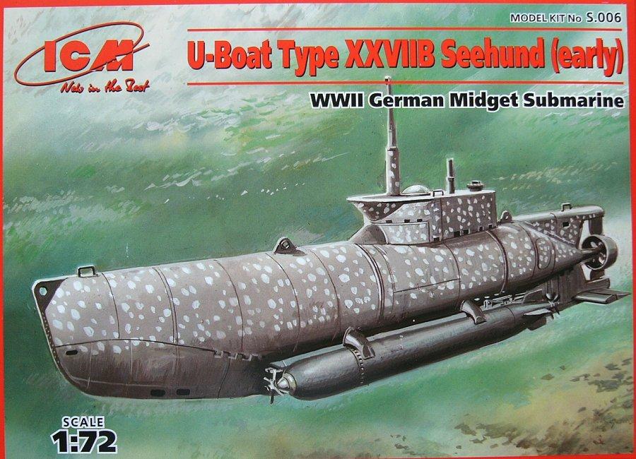1:72 U-Boat Type XXVIIB 'Seehund' (Early)