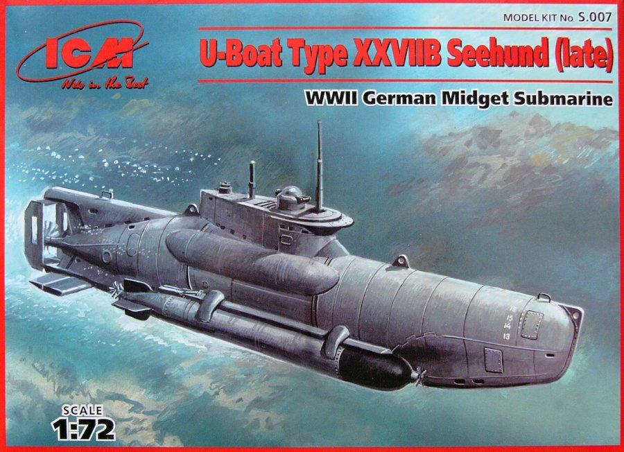 1:72 U-Boat Type XXVIIB 'Seehund' (Late)