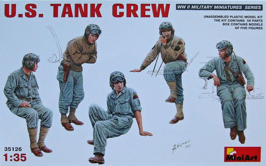 1:35 U.S. Tank Crew (5 figúrok)