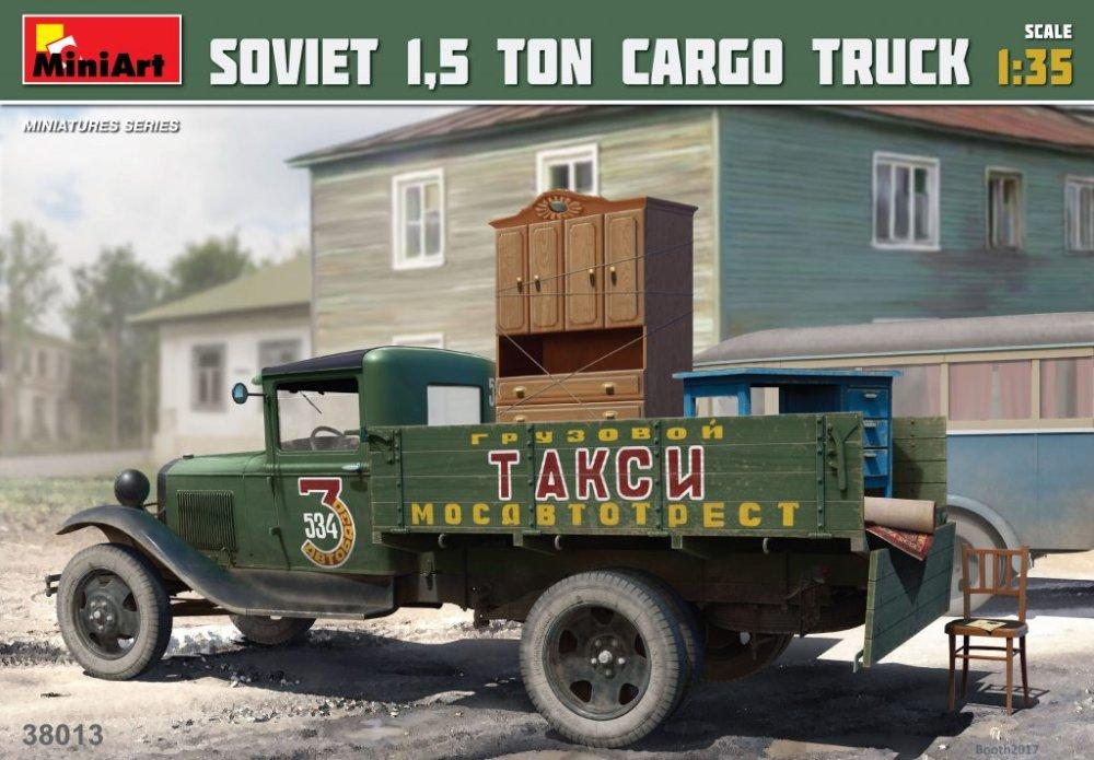 1:35 Soviet 1,5t Cargo Truck