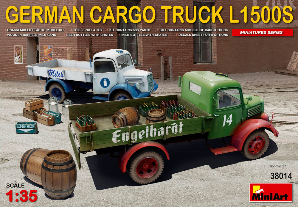 1:35 German Cargo Truck L1500S Type