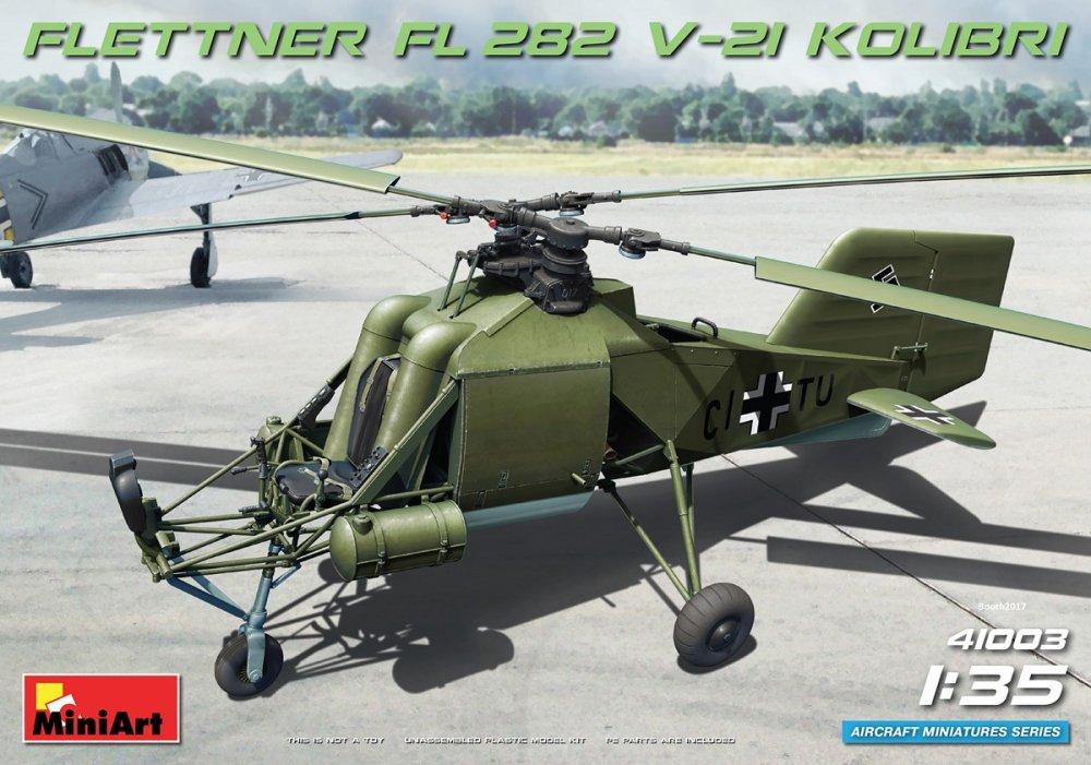 1:35 Flettner FL 282 V-21 Kolibri w/ PE Set
