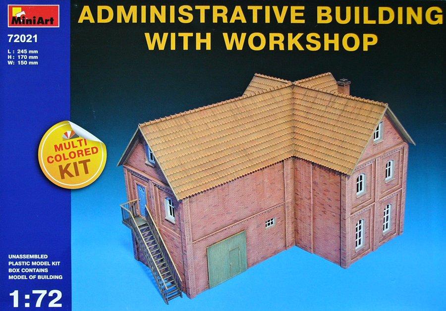 1:72 Administrative Building w/ Workshop