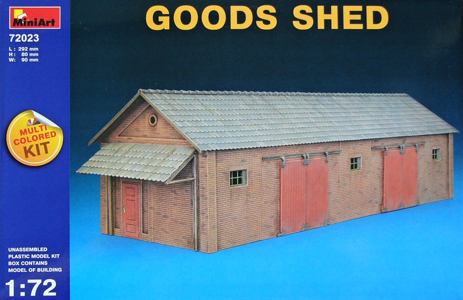 1:72 Goods Shed