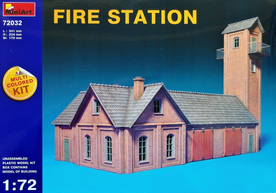 1:72 Fire Station