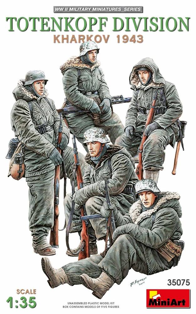 1:35 Totenkopf Division (Kharkov, 1943) (5 figúrok)