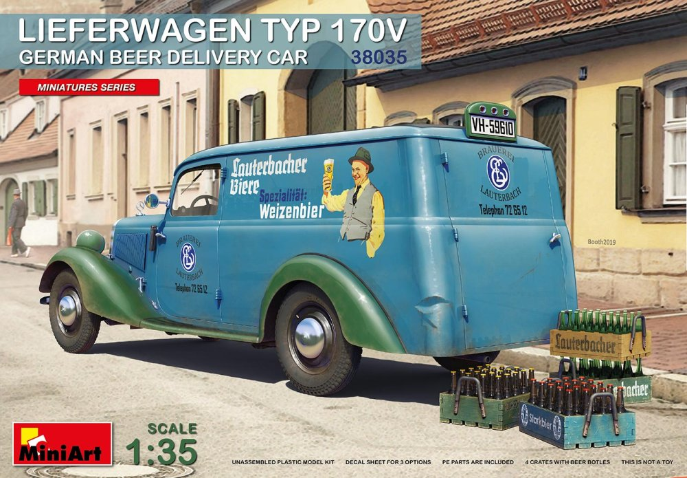 1:35 Lieferwagen Typ 170V German Beer