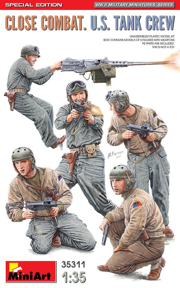 1:35 Close Combat U.S. Tank Crew (5 figúrok)