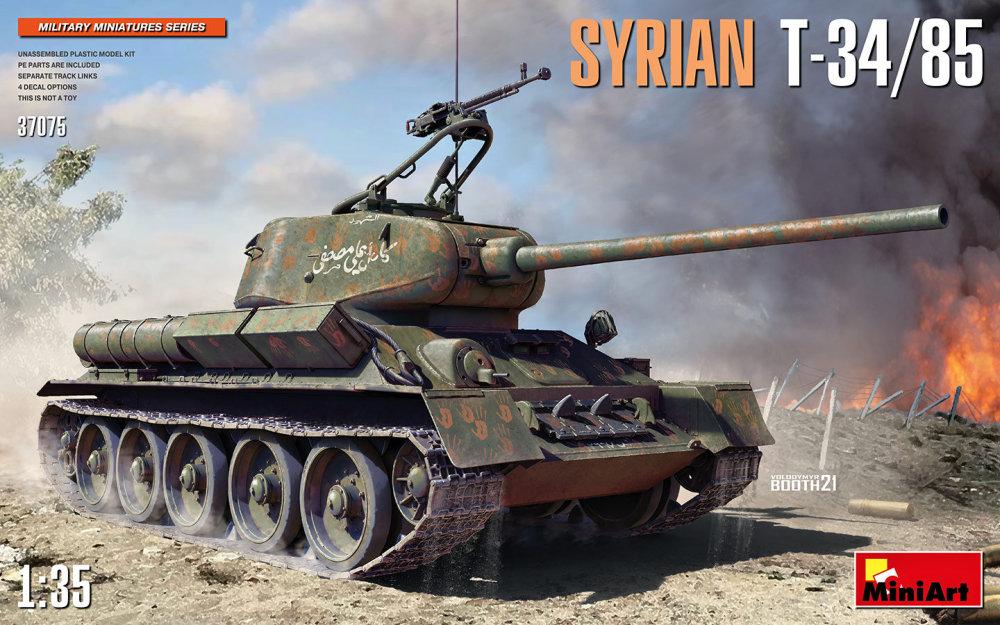 Produkt anzeigen - 1:35 Syrian T-34/85