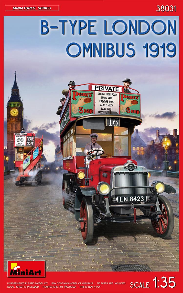 1:35 B-Type London Omnibus 1919