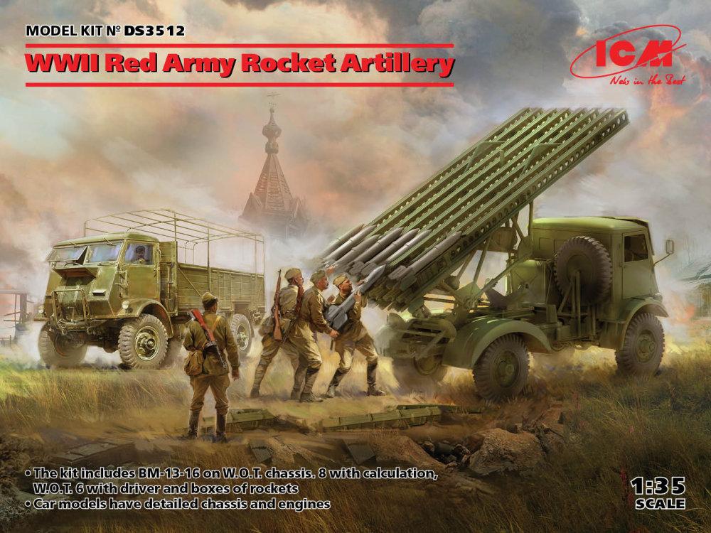 Náhľad produktu - 1:35 Red Army WWII Rocket Artillery Diorama Set